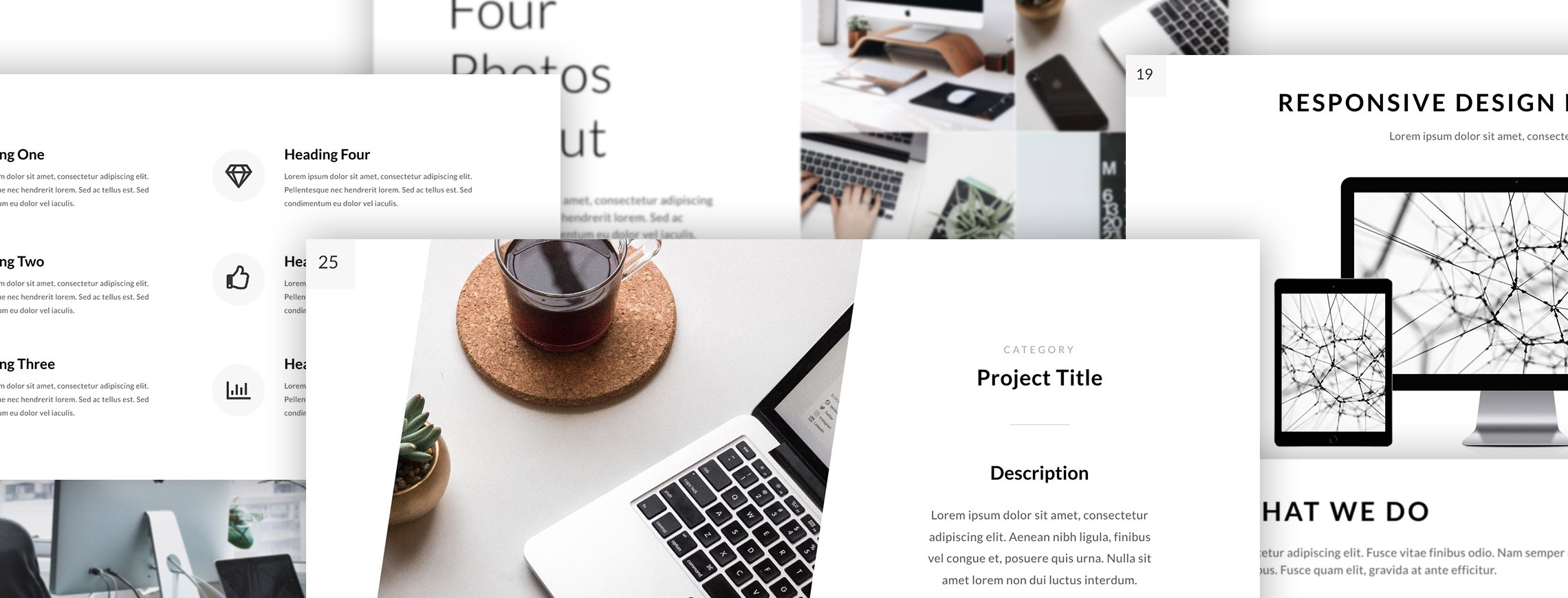 Simple, Clean, Minimalist Keynote Templates for Amazing Presentations