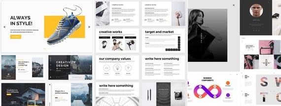 17 Modern and Professional Google Slide Templates