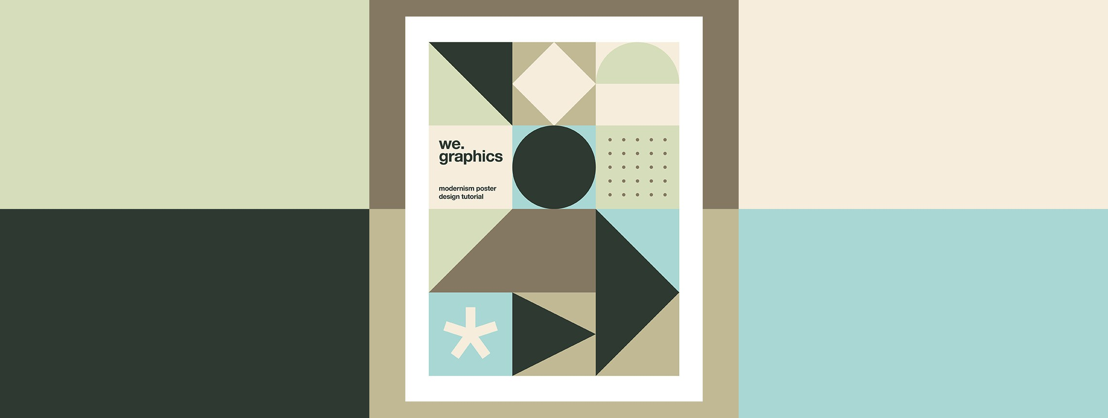 Design a Modernism Inspired Poster from Scratch with Illustrator