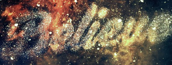Create an Easy Nebula Text Effect in Photoshop
