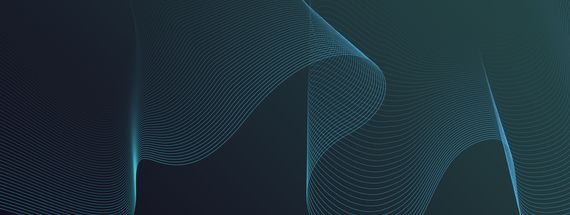 How to Create an Abstract Wire Mesh Wave Background with