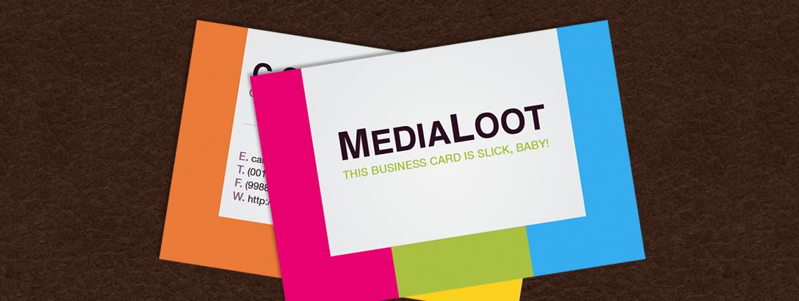 illustrator business cards