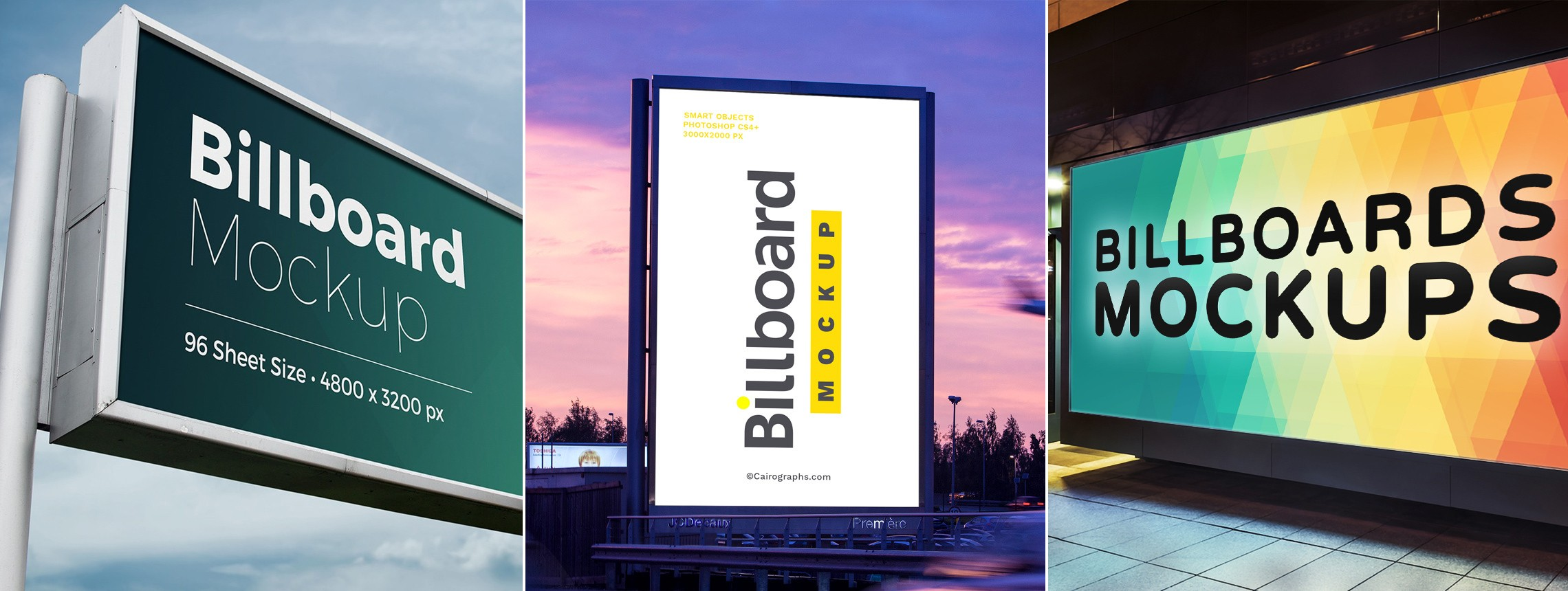 19 Billboard and Outdoor Advertising Mockups