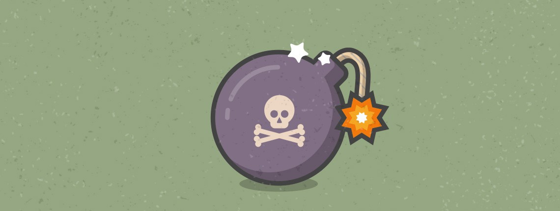 How to Create a Cartoon Bomb Icon with Sketch App