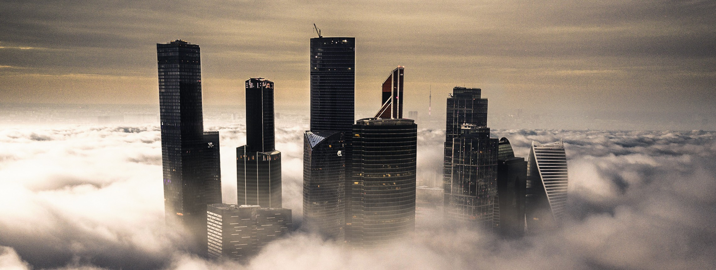How to Create an Atmospheric Cityscape Bathed in Clouds