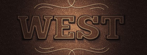 Create an Easy Stitched Leather Type Effect in Photoshop