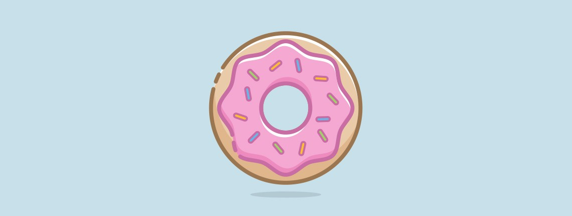 Create a Mouthwatering Donut Icon with Illustrator
