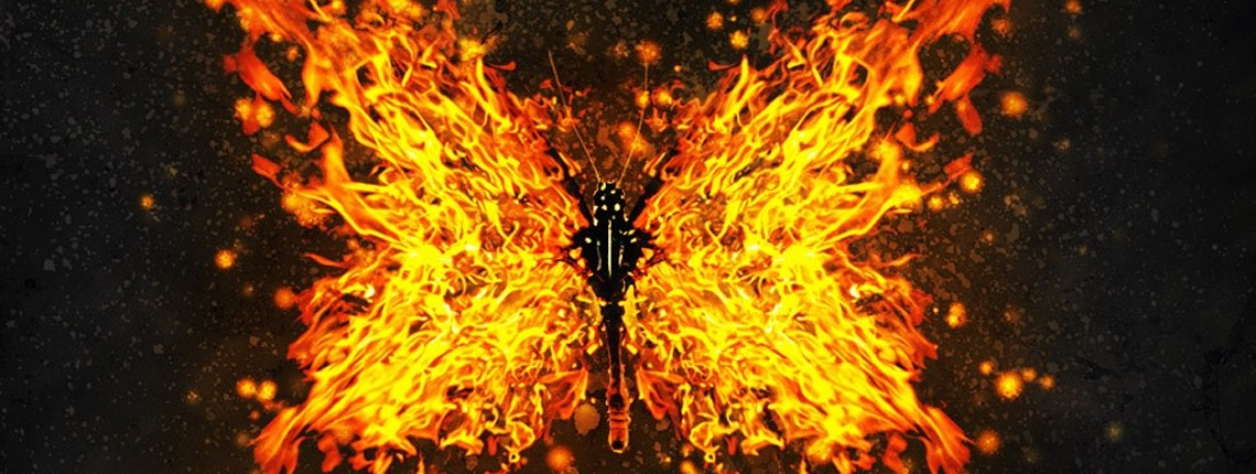 Create an Easy Flaming Wing Butterfly Effect in Photoshop