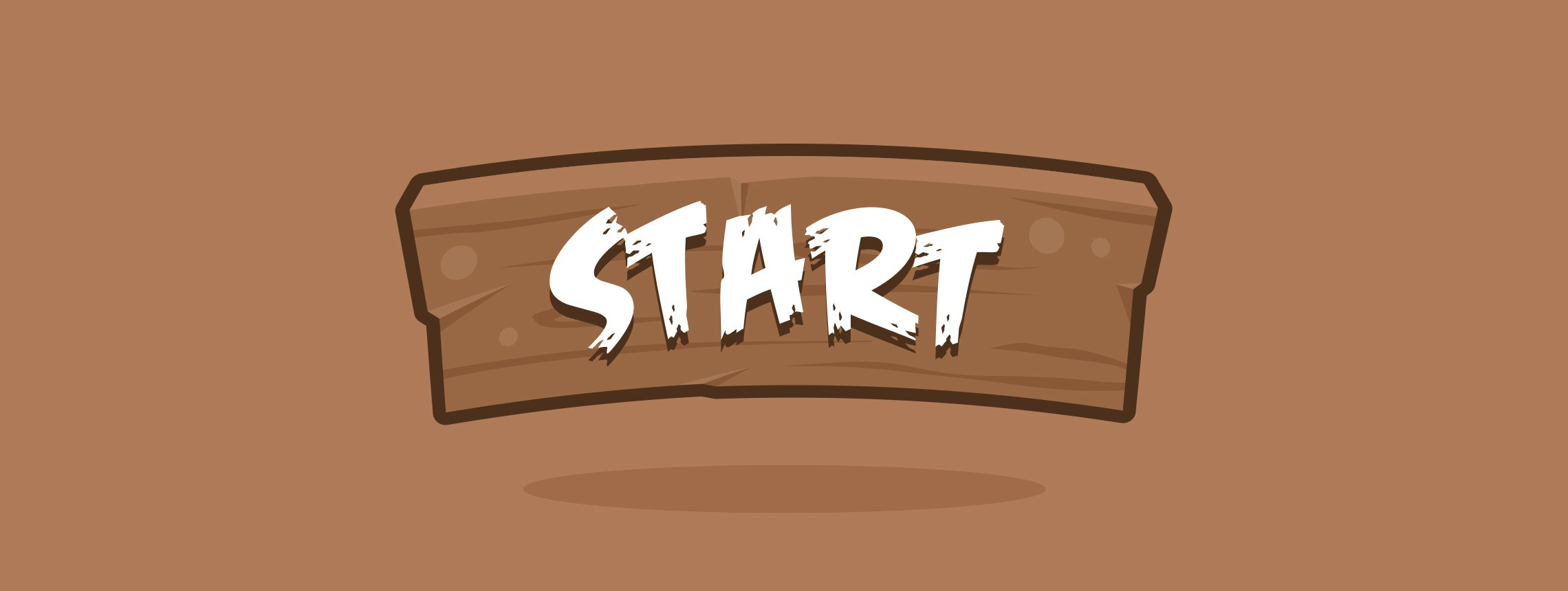 How to Create a Cartoon Style Wood Button for Games