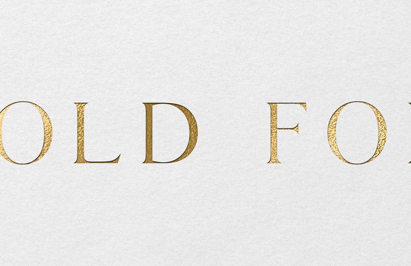 22 Gold Foil Fonts — the Perfect Fonts to Add Some Gold To