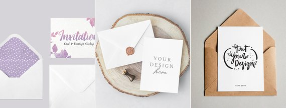 28 Gorgeous Greeting Card Invitation And Postcard Mockups