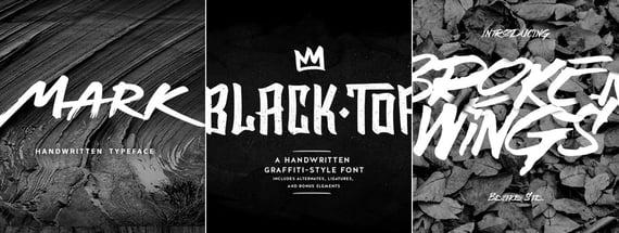 21 Graffiti Fonts for True Street Cred