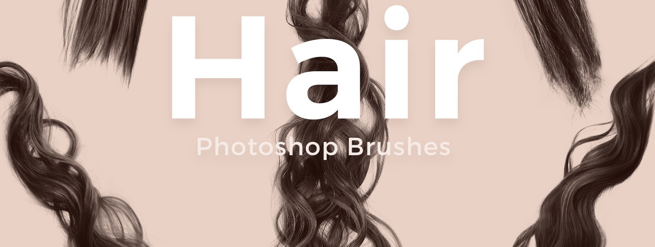 ​30 Gorgeous Hair Brushes for Photoshop