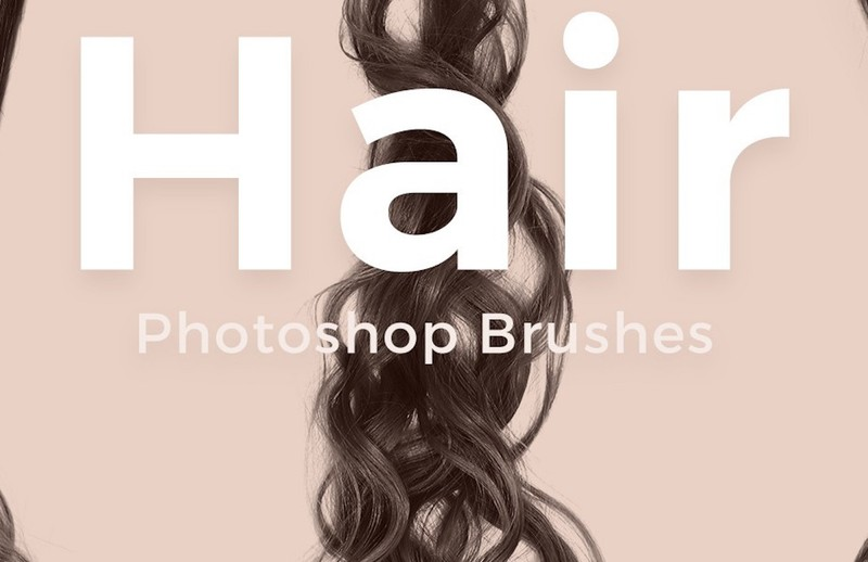 30 Gorgeous Hair Brushes for Photoshop
