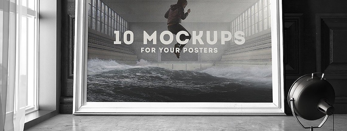 The 15 Best Poster Mockup Templates in 2017