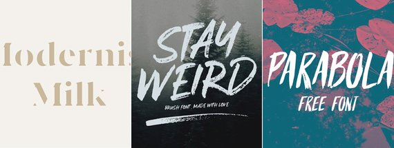 27 Hipster Fonts to Download Before They're Cool