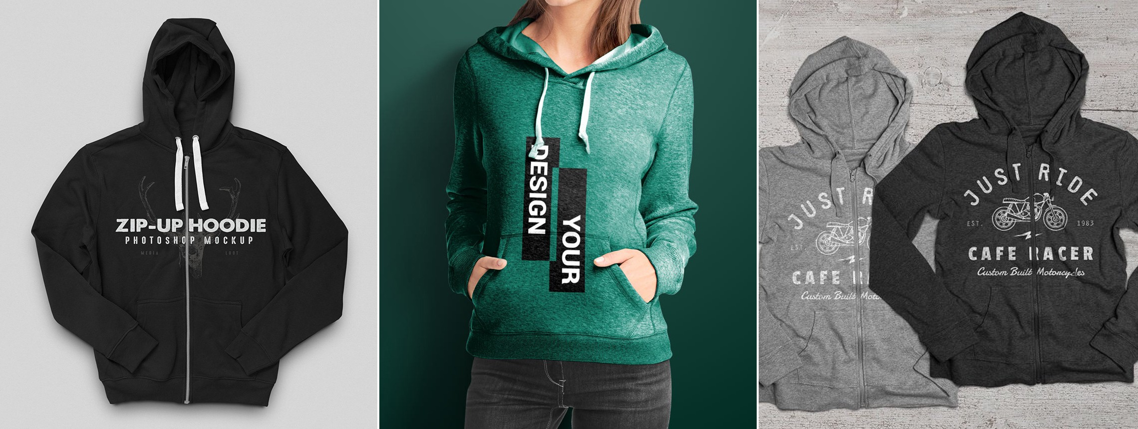 24 Hoodie Mockup Templates to Put Your Logo On