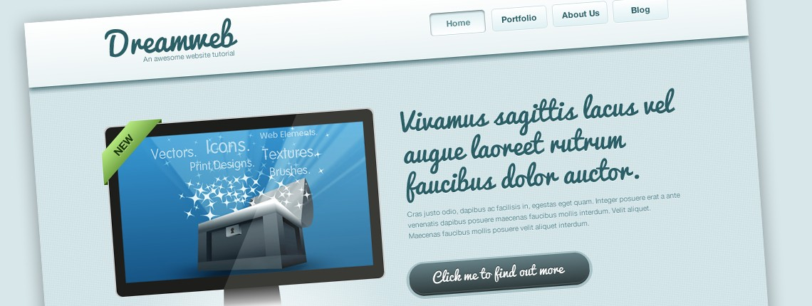 How to Design a Clean Website Template From Scratch in Adobe Fireworks