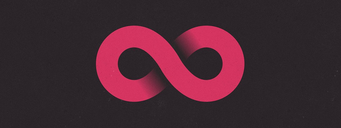 how to create infinity symbol in photoshop