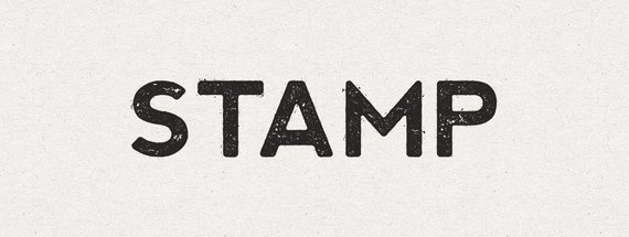 How to Create an Ink Stamp Text Effect with Illustrator CS6