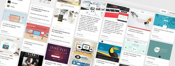 8 Best Web Design Inspiration Pinterest Boards