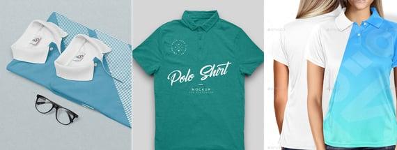 17 Polo Shirt Mockups To Make Designs And Collars Pop Medialoot