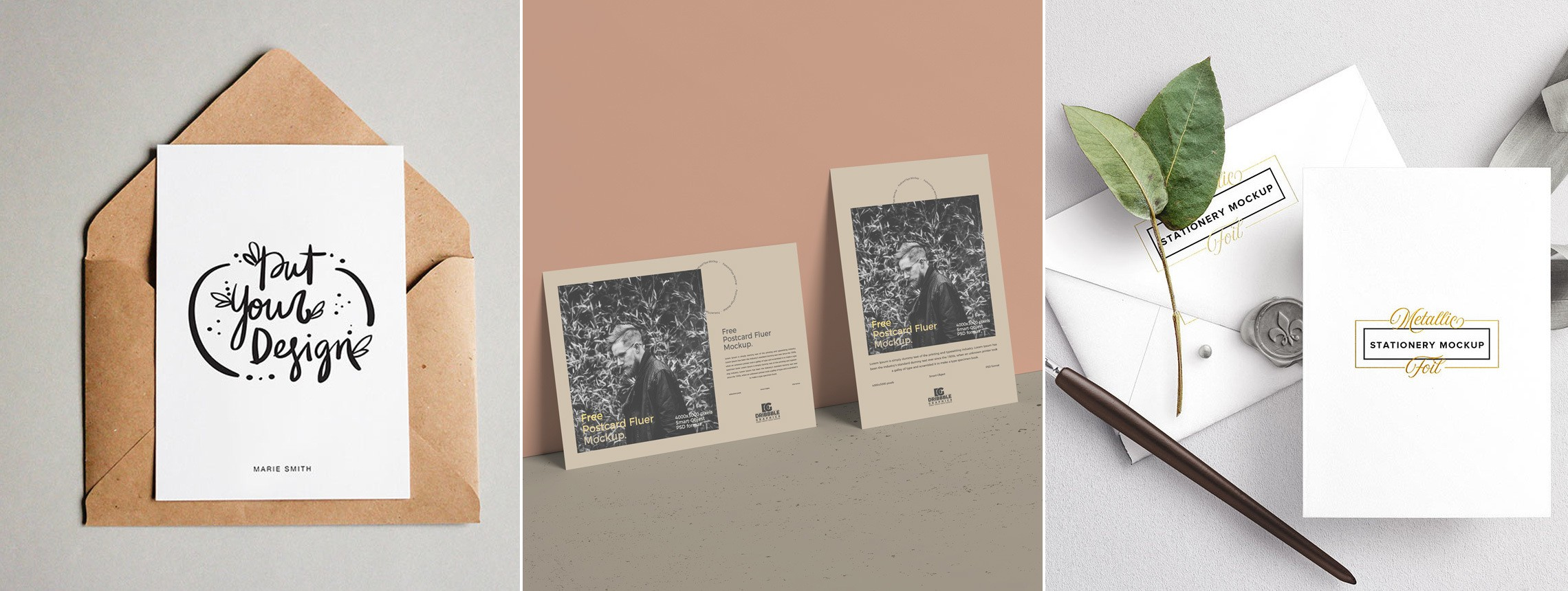 19 Postcard Mockups to Make Your Friends Jealous of Your Vacation