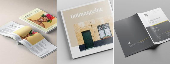 16 Print Magazine Mockup Images & Downloads to Inspire Your Next Design
