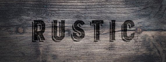 32 Rustic Fonts for Perfect Vintage Woodsy Cred