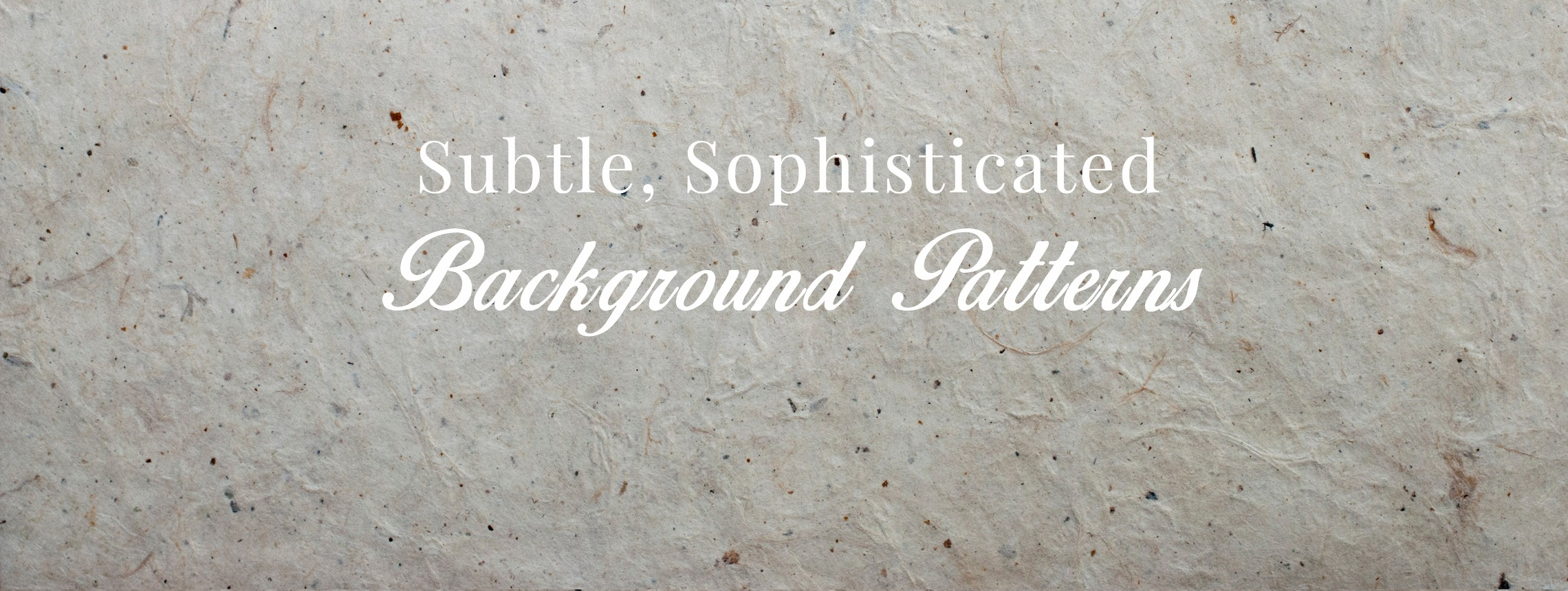 32 Background Patterns That Are Subtle, Seamless, and Sophisticated