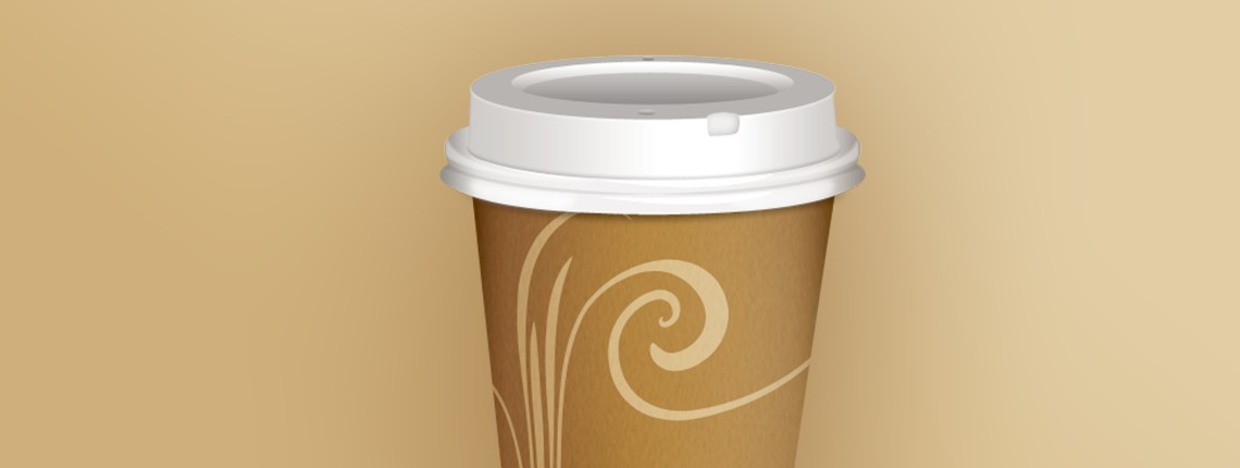 Tutorial: How To Design a Realistic Takeout Coffee Icon