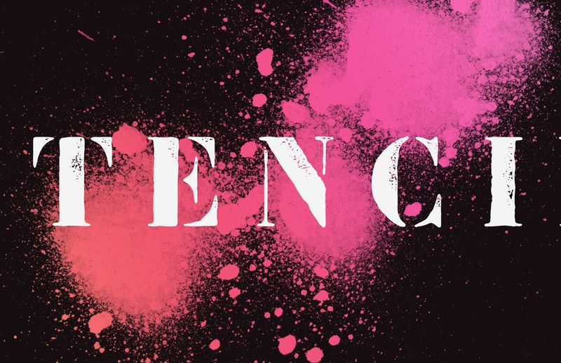 36 Stencil Fonts to Spray Paint, Ink, and Pencil In