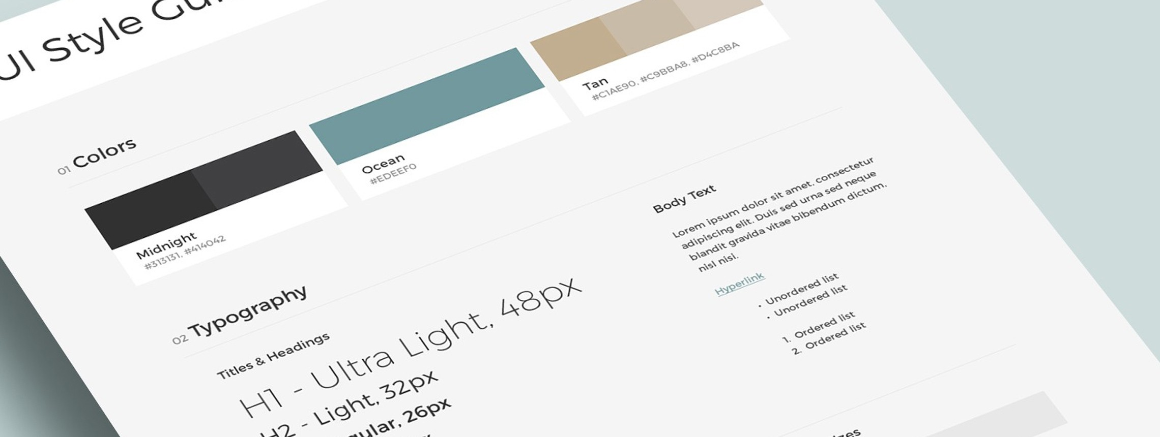 Style Guides: A Design Mock-up for the Responsive Web (Updated)