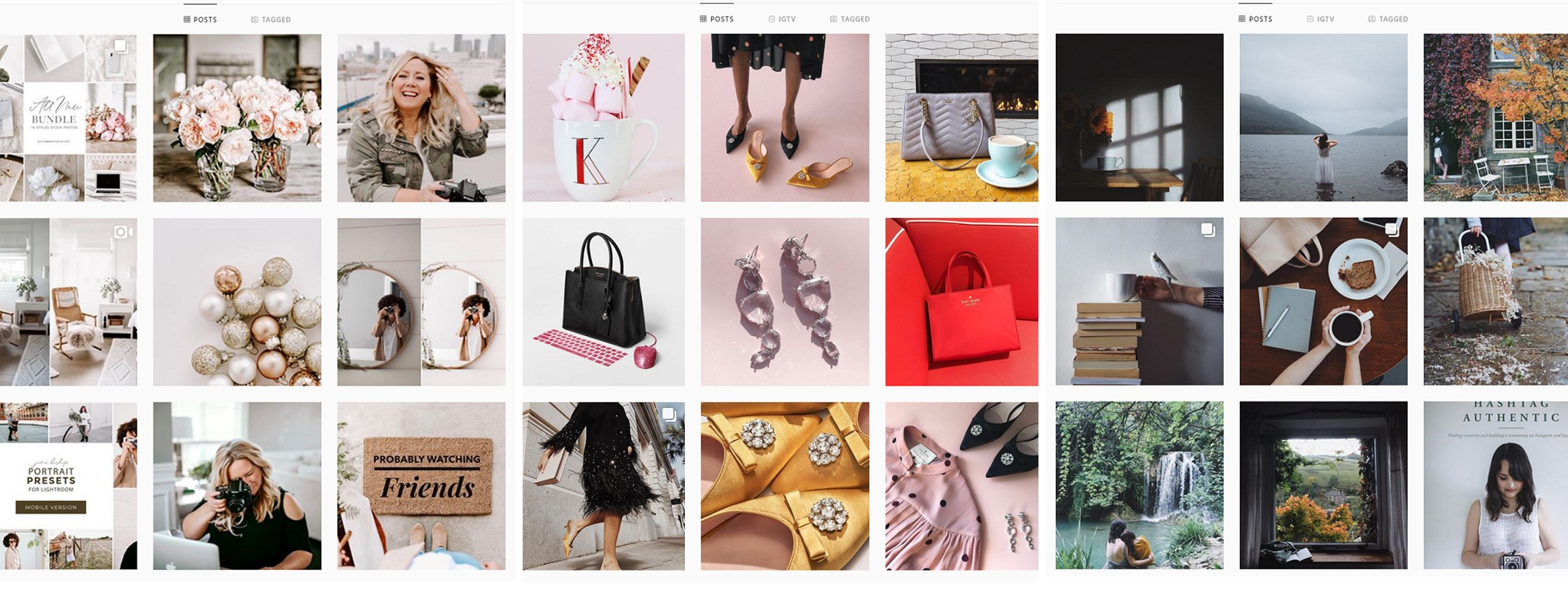 Social Media Design Inspiration — Gorgeous Feeds and Posts