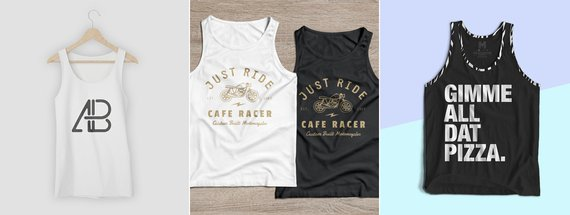 18 Tank Top Mockups That Look Real
