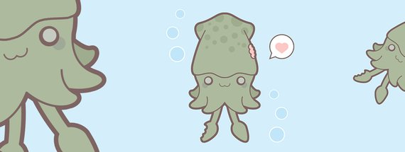 Tutorial: How to Design a Kawaii Squid in Illustrator