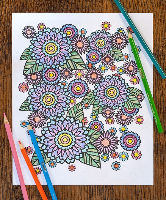 How to Create a Stress Relief Coloring Book Page in Adobe Illustrator