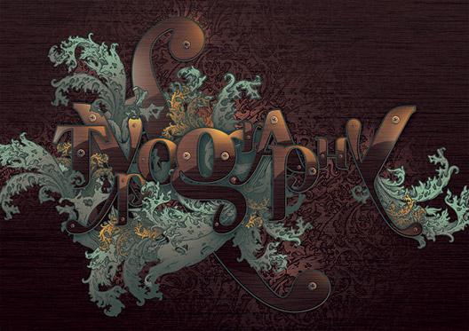 Design inspiration: Baroque in Modern Graphic Design