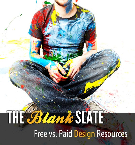 The Blank Slate: Free vs Paid Design Resources