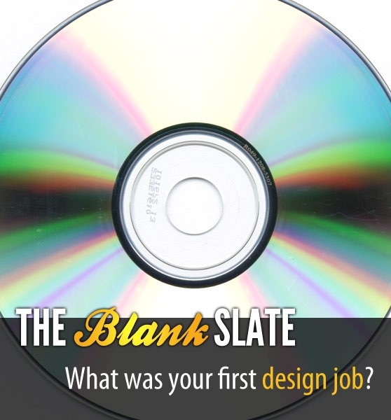 The Blank Slate: Your First Design Job