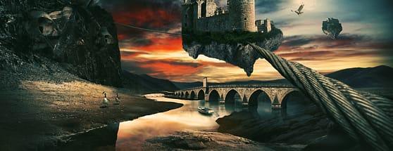Create a Surreal Landscape Using Photo Manipulation