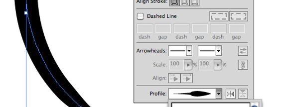 Illustrator Quick Tip: Adjusting Line Width with Stroke