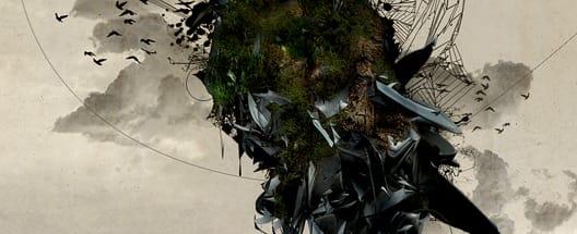 3D renders in modern graphic design