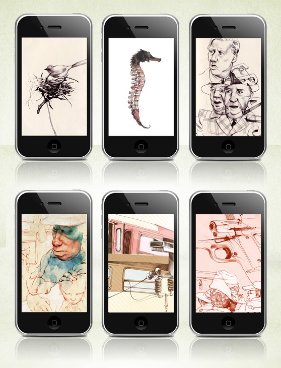 Wallpaper of the Week #5 iPhone Collection by Taylor White