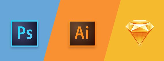 Should You Use Photoshop, Illustrator or Sketch to Draw Vector Icons?