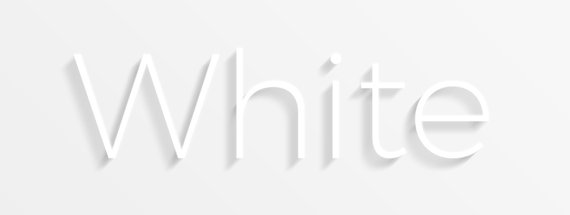 Create Legible White on White Text with Photoshop