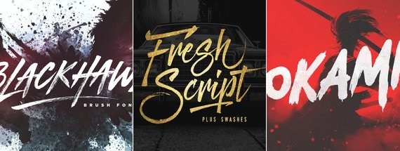 15 Gorgeous Graffiti Fonts & Paint Effects