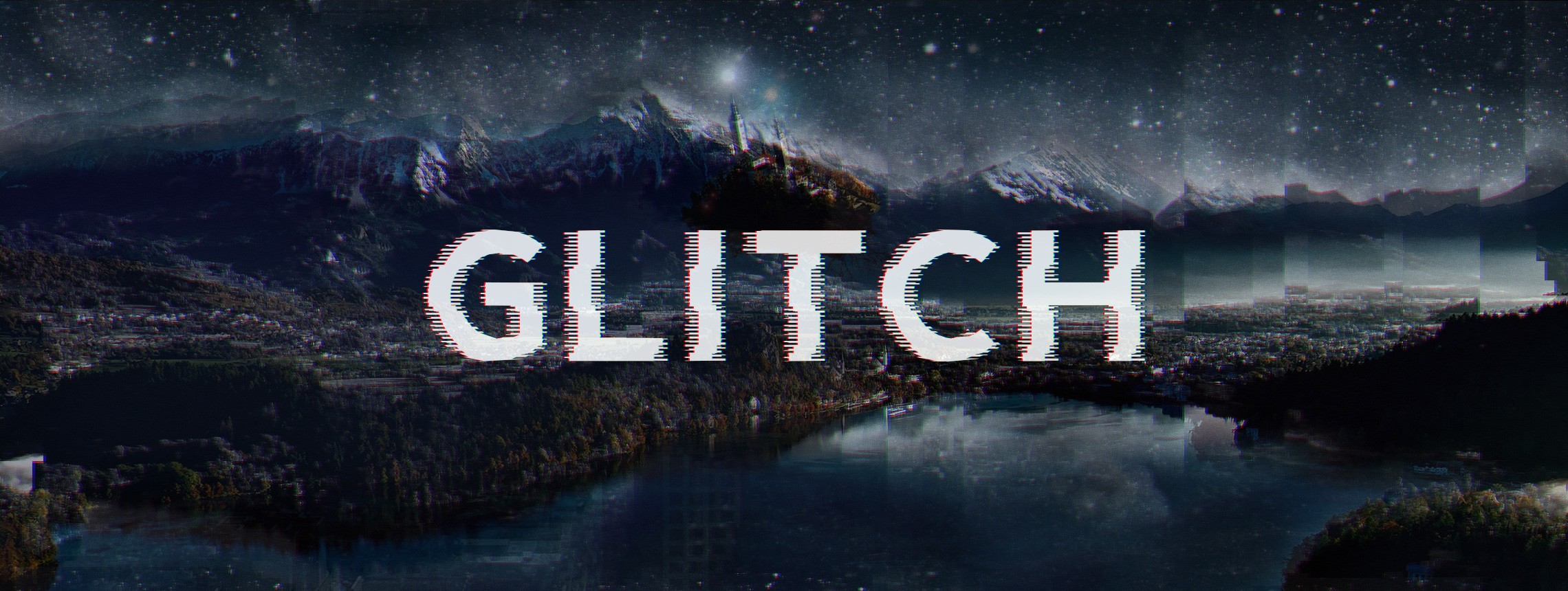 10 Best Glitch Fonts & Effects of 2018