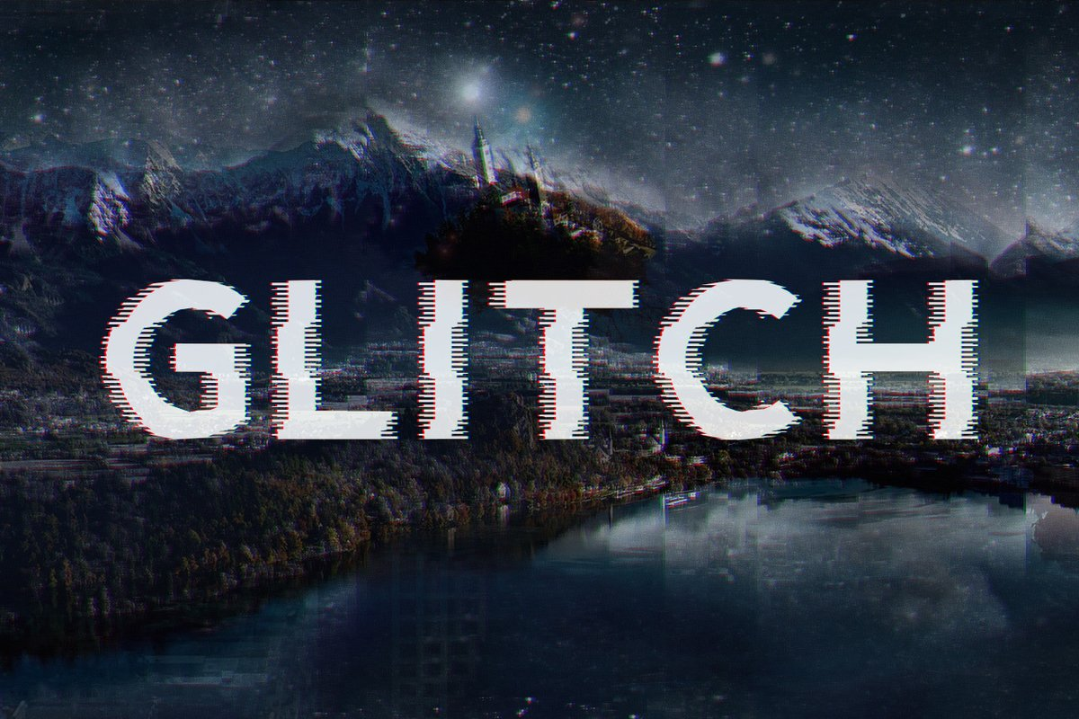 10 Best Glitch Fonts  amp  Effects