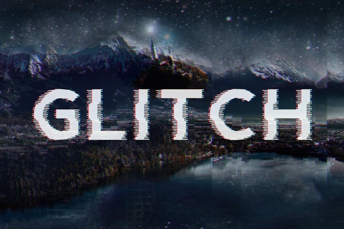10 Best Glitch Fonts   Effects of 2018     Medialoot